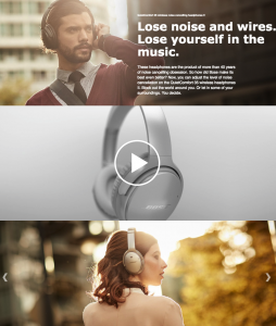 Bose video on Amazon.com